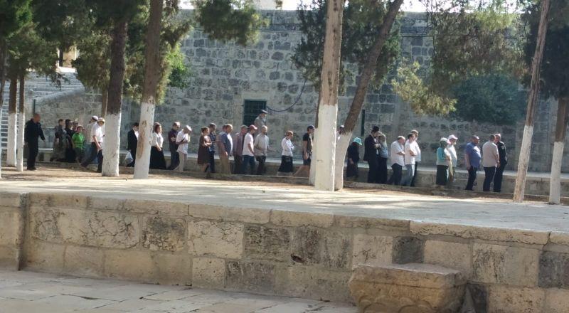 القدس: 79 مستوطنا يقتحمون الأقصى اليوم
