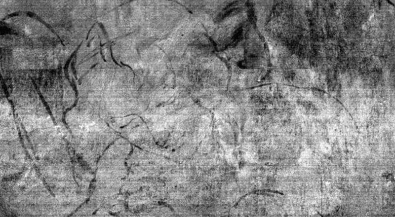 بعد مرور أكثر من 500 عام.. رسم تخطيطي داخل لوحة دا فينشي