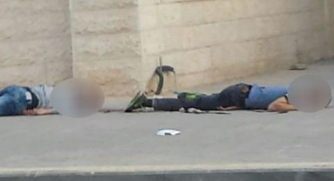 قتل فلسطيني وإصابة آخر بحجة أنهما طعنا اسرائيلي في