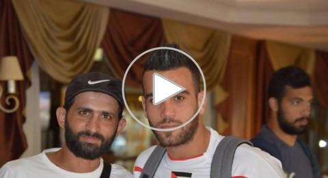 بالفيديو: لاعب يرفض الاحتفال بهدفه إكراماً للشهداء