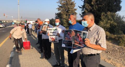 وقفات تضامنية في الضفة والداخل مع الأسر ماهر الأخرس المضرب عن الطعام منذ 88 يومًا