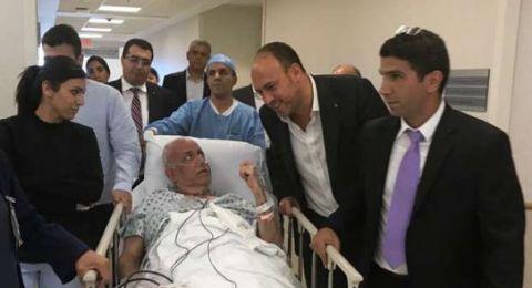 تدهور حالة القيادي الفلسطيني صائب عريقات إثر اصابته بفايروس كورونا