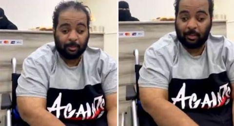 سعودي  رغم مرضه بالتصلب اللوحي وإعاقته.. يحصل على البكالوريوس من أمريكا