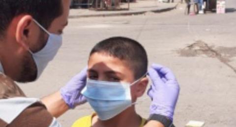 غزة: حالة وفاة و134 اصابة جديدة بكورونا خلال 24 ساعة
