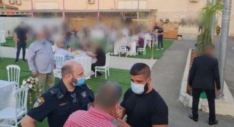 مداهمة حفلات زفاف في كفر قاسم وتغريم المخالفين