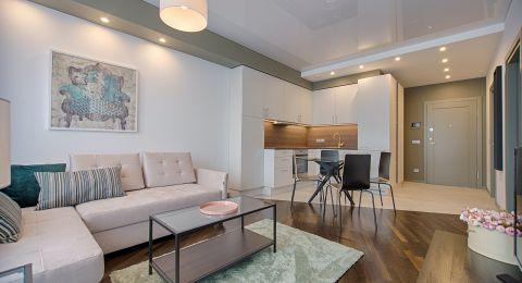 الرفاهية والبساطة في ديكور شقة نادين نجيم