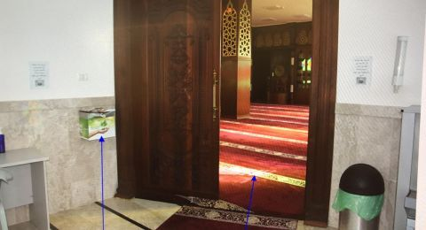 ابو اسنان: مين اللي سرق الجامع؟؟ اعتقال شابين من نحف