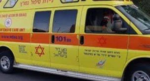 كفر كنا : اصابة متوسطة لطفلة (11 عاما) جراء سقوطها من علو 3 امتار
