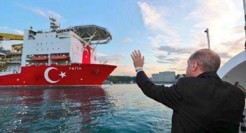أردوغان يعلن اكتشاف غاز إضافي بالبحر الأسود