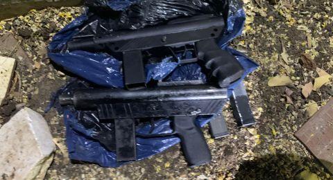 ضبط اسلحة غير قانونية في قرية ابطن