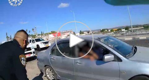 الشرطة تضبط مصاب بكورونا من شفاعمرو يسافر برفقة صديقه
