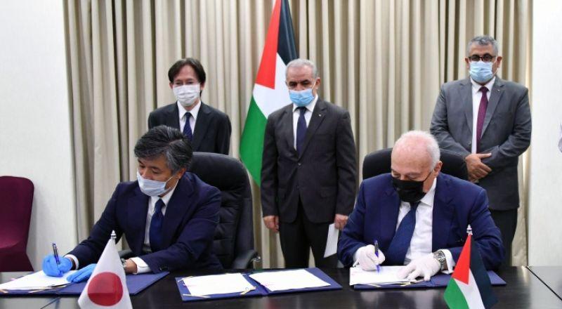 اليابان تدعم فلسطين بـ33 مليون دولار لصالح المخيمات والمدارس