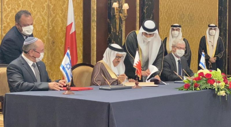 انطلاق مراسم توقيع عدة اتفاقيات في المنامة بين البحرين وإسرائيل