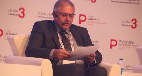 د. جوني منصور يدوّل قضيّة قانون القوميّة في مؤتمر