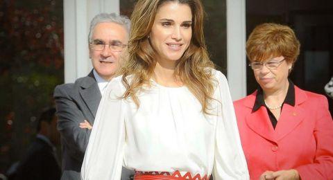 إطلالات الملكة رانيا بالأبيض خلال 2018
