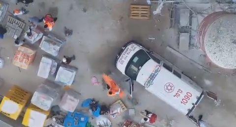 إصابة خطيرة لعامل من كفر كنا بورشة في حيفا