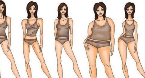 شكل جسمك يدل على شخصيتك!