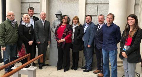 النائبة عايدة توما - سليمان وسلسلة لقاءات ناجحة في إيرلندا