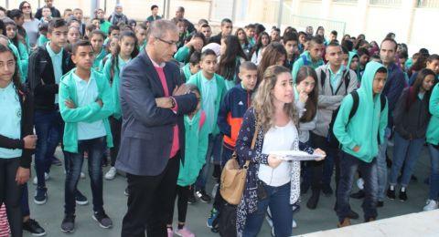 المدرسة الإعدادية الحديقة (أ) يافة الناصرة تتلألأ بأنوار المولد النبوي