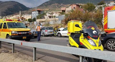 الرامة: حادث يسفر عن 7 اصابات طفيفة