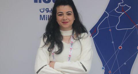 أسيل حمّود من جامعة النجاح تشارك في