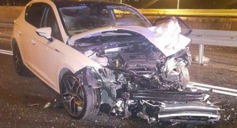 4 إصابات بحادث طرق مروع قرب العفولة