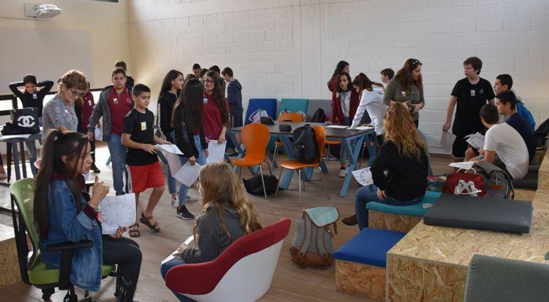   تعزيز الحياة المشتركة بالجلبوع: طلاب عرب ويهود يتعلمون الانجليزية معًا