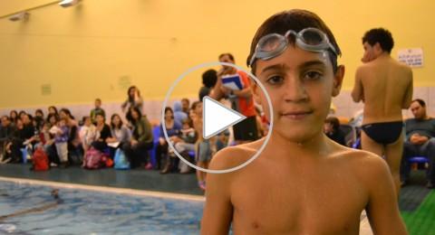 الناصرة: عدي زعبي ينصح الطلاب بتعلم السباحة
