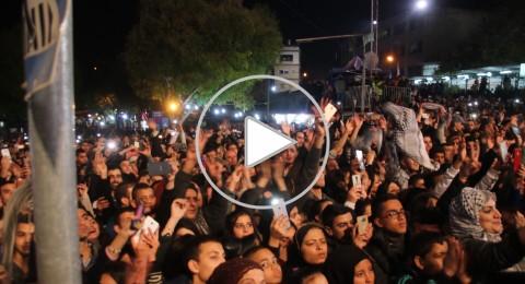 تفاعل جماهيري وحالات اغماء في حفل محمد عساف في اختتام مهرجان