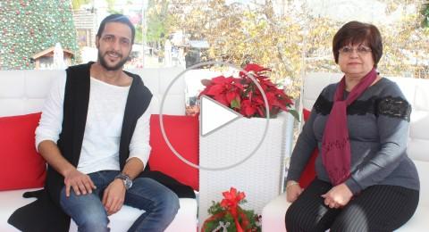 عفاف توما تتحدث عن فعاليات مجلس طائفة الروم الخاصة بالميلاد المجيد