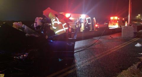 حصيلة حوادث الطرق الليلة الماضية .. مصرع 3 اشخاص