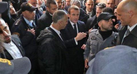 الإليزيه يكذب الشاباك: ماكرون لم يعتذر عن طرد الأمن الإسرائيلي
