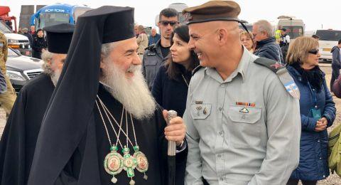 20 الف حاج مسيحي وزائر وصلوا إلى طقوس الغطاس في موقع المغطس بقصر اليهود