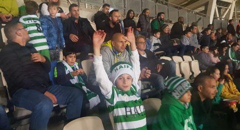 مستقبل أخضر للرياضة في الجلبوع .. والأطفال يشاهدون مباراة مكابي حيفا