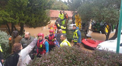 على ضوء الأحوال الجوية: سلطة الإطفاء والإنقاذ تناشد المواطنين بالتقيّد بتعليمات الأمن والوقاية