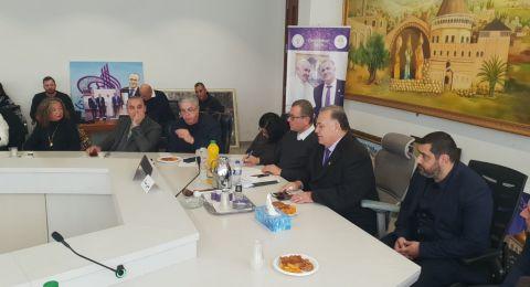 تشجيع السياحة والاستثمار على جدول البلدية واصحاب المصالح في الناصرة