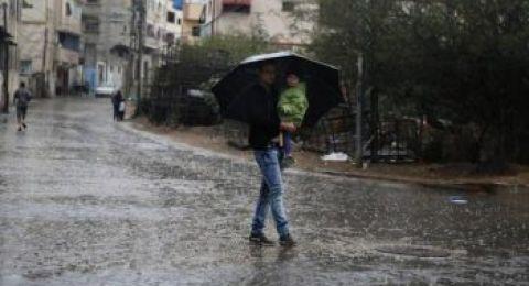 حالة الطقس: امطار متفرقة مع بقاء الجو شديد البرودة