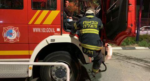 عرابة: اندلاع حريق في محل اثاث دون وقوع اصابات
