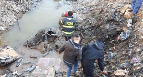 العثور على الطفل قيس أبو رميلة جثة مجمّدة قرب مياه التصريف في بيت حنينا