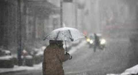 حالة الطقس: منخفض جوي قطبي وتواصل هطول الامطار