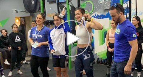 هبة مصري من حيفا: رياضة رفع الأثقال جعلتني أحب نفسي أكثر وأكثر