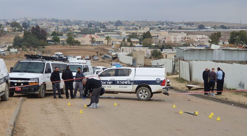 النقب: اعتقال مشتبه في جريمة القتل التي وقعت اليوم بقرية السيد