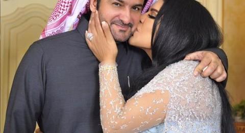 بالصور: نجمات عربيات يقبلن أزواجهن .. جرأة غير مُعتادة