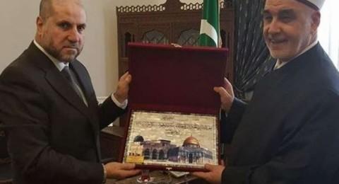 مفتي البوسنة: ندعم الفلسطينيين ونؤيد زيارة القدس