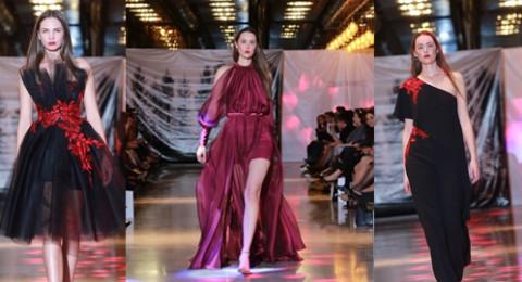 المصمم كميل شاهين يكشف أحدث أزياء لربيع صيف 2017 في حيفا عرض أزياء أدهش الحضور بجاذبية التصاميم