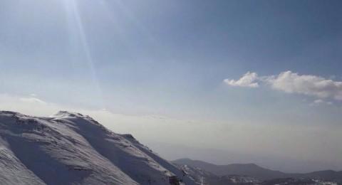 طلاب قسم 360 في مدرسة التسامح برحلة ترفيهية لجبل الشيخ
