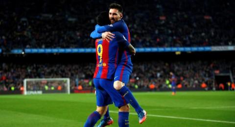 برشلونة يهزم فالنسيا ويحافظ على فارق النقطتين مع الريال