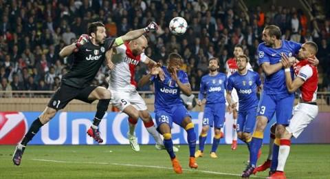 يوفنتوس ينتزع بطاقة التأهل للدور نصف النهائي من انياب موناكو