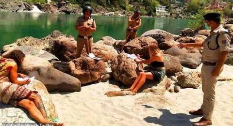 الهند: سياح يلجؤون لكهف فراراًا من كورونا والشرطة تتدخل!