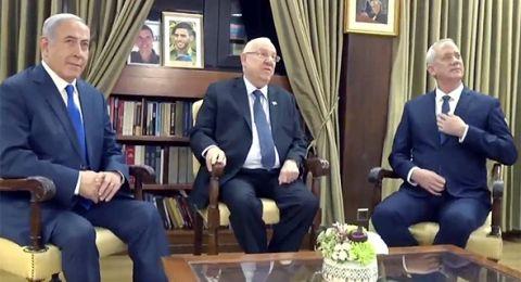 عدم التوصل لاتفاق .. غانتس يغادر مقر نتنياهو